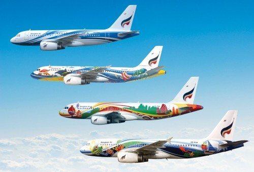 bangkok airways airbus fly