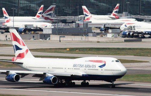 british airways fly lufthavn