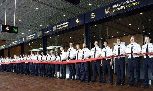 københavns lufthavn sikkerhedskontrol
