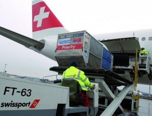 swissport swiss fly lufthavn handling