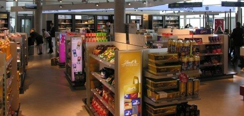 Færøernes lufthavn toldfri butik