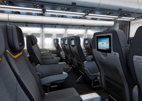 Nyeste fotos af indretningen af A330-200