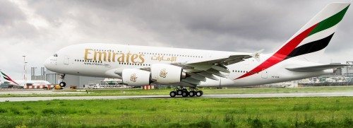 emirates airbus a380 fly