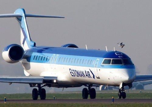 estonian air, CRJ900