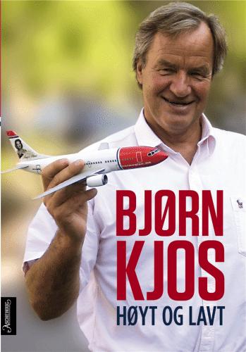 Bjørn Kjos Norwegian bog Høyt og lavt