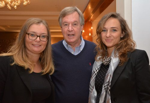 Piergiorgio Togni sammen med Raffaella Zaccai og Tatjana Familio, begge fra Turismofyg i Cervignano.