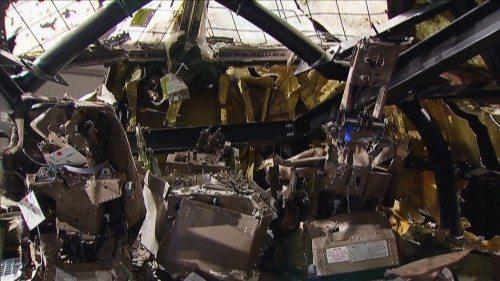 MH17 cockpit