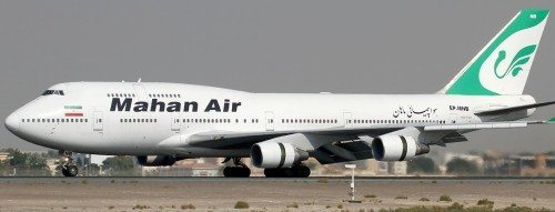 Mahan Air Boeing 747-400