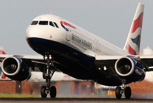 british airways airbus a320 fly lufthavn