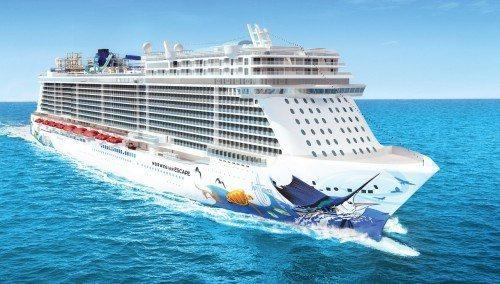 krydstogt skib norwegian Escape