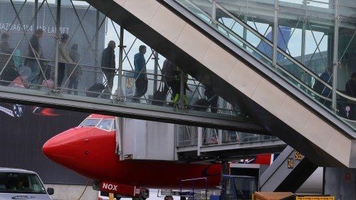 oslo lufthavn fly passagerer