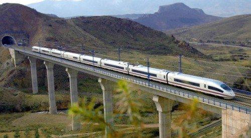 spansk højhastigheds tog