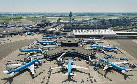 Schiphol lufthavn fly