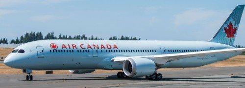 air canada Boeing B787-9 fly dreamliner