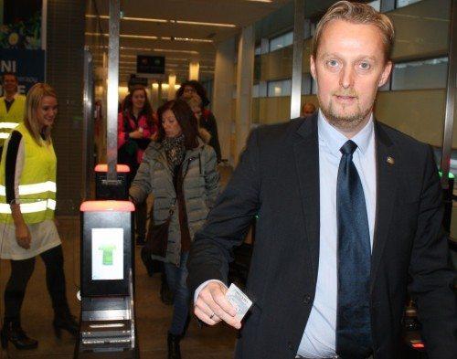 Landechef for DFDS i Danmark, Kevin Helsinghof,