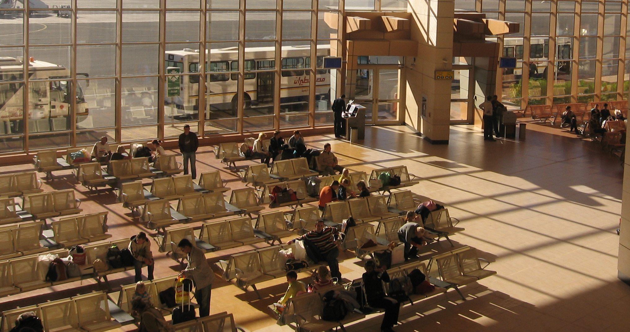 Sharm el-Sheikh lufthavn.