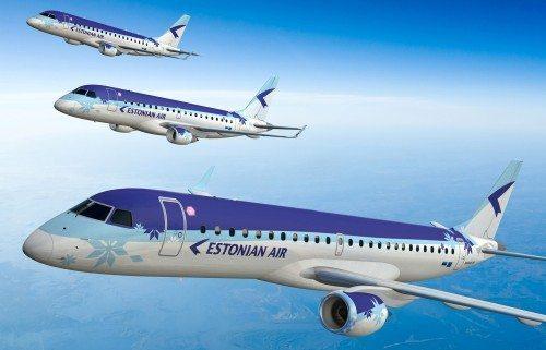 estonian air EMBRAER 170 175 190