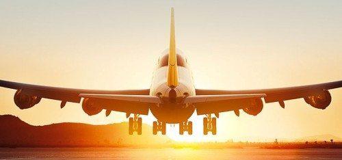 lufthansa fly boeing b747 lufthavn