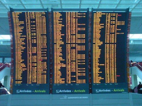 paris de gaulle lufthavn