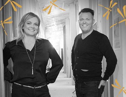 Værtsparret på det kommende Guldsmed-hotel i Reykjavik bliver Linda Jóhannsdóttir og Ellert Finnbogason.