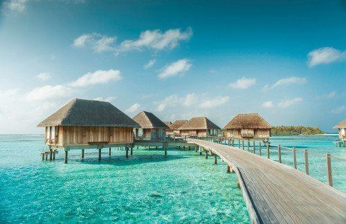 Maldiverne er også med i Club Med tilbud hos Spies.