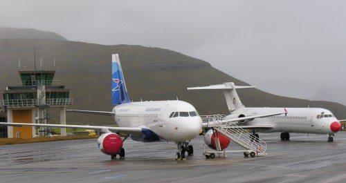 færøernes lufthavn Atlantic Airways og DAT okt. 15