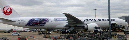 japan airlines Boeing B777-300 fly lufthavn