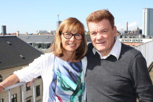 Ægteparret Berit Willumsgaard og Søren Rasmussen er henholdsvis Albatros' administrerende direktør og bestyrelsesformand. Foto: Peter Fredberg