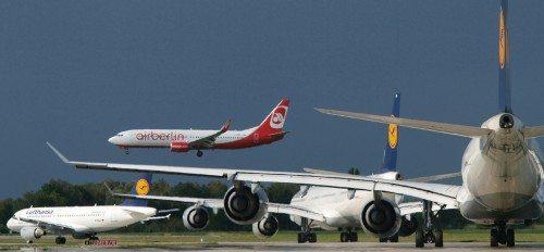 münchen lufthavn fly lufthansa air berlin