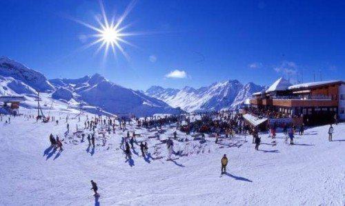 skisport østrig
