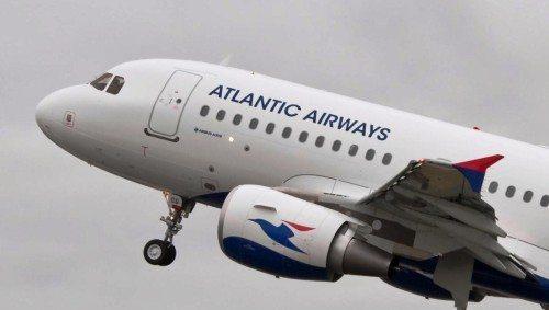 Atlantic Airways airbus a319 fly