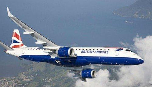 BA CityFlyer embraer fly