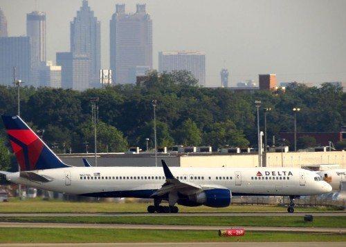 Delta fly Atlanta lufthavn