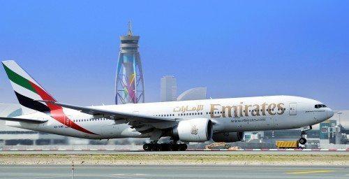 Emirates Boeing B777-200LR
