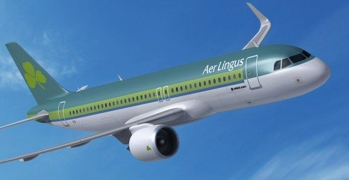 aer lingus Airbus A320 neo fly