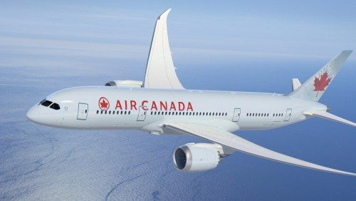 air canada boeing b787 dreamliner fly