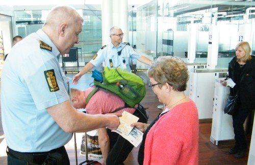 politi pas kontrol københavns lufthavn