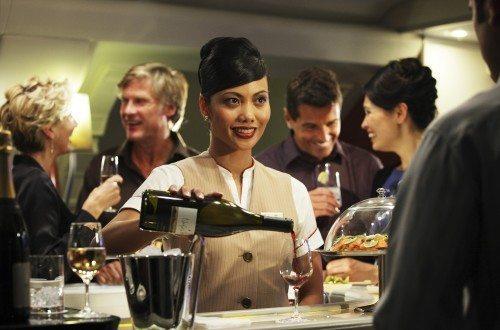 Emirates vin kabine airbus A380