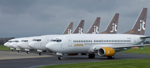 Jet Time fly Boeing 737