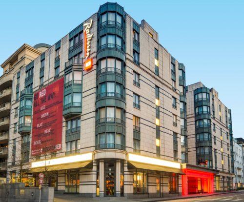 Radisson RED Brussels hotel