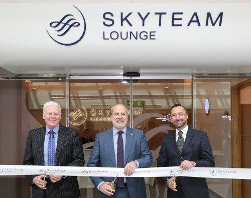 SkyTeam Dubai lounge
