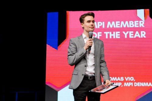 Thomas Vig, Agenda Group - vinder af DEMAs MPI Member of the Year