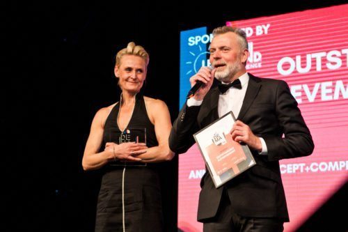 Ann Hansen og Bo Krüger - vindere af DEMAs Outstanding Achievement Award