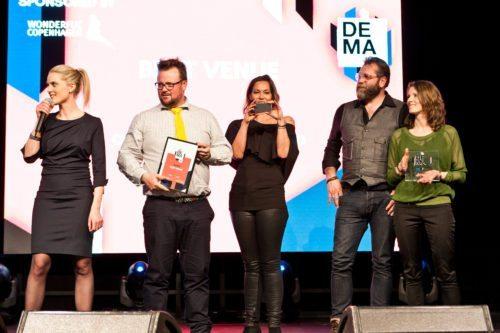 Copenhagen Street Food - vinder af DEMAs Best Venue og Best Integrated Support