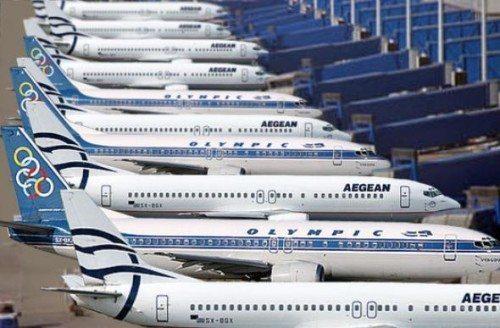 græsk lufthavn aegean
