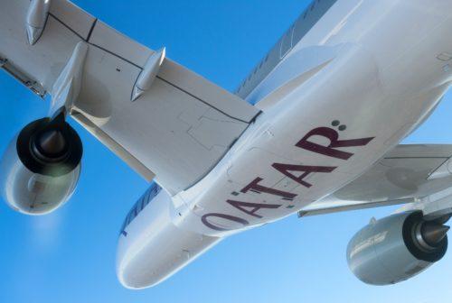 Airbus A350XWB QatarAirways fly