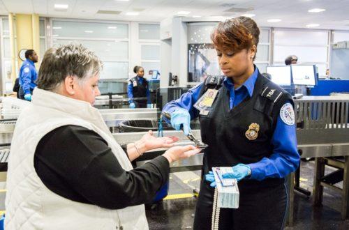 Transportation Security Administration lufthavns sikkerhed