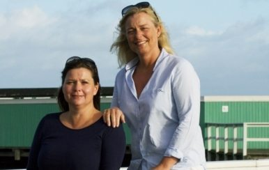 Bag politianmeldte Trolles Travel står sygeplejerskerne Birgitte Brandborg og Jill Trolle. Foto fra bureauets hjemmeside.