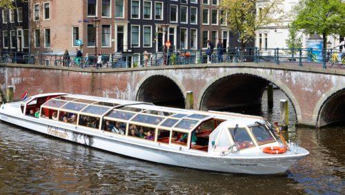 amsterdam kanal båd ferie