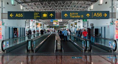 bruxelles lufthavn passagerer